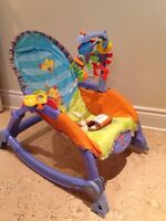 Fisher Price Newborn to Toddler Rocker Chair / Chaise Bascule