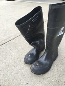 Brand new Size 8 Onguard Steel Toe Rubber Boots Strathcona County Edmonton Area image 2