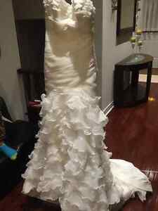 Gorgeous Wedding dress and veil. Must see