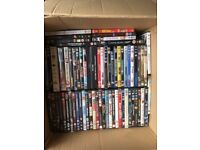 DVD's as seen - roughly 90