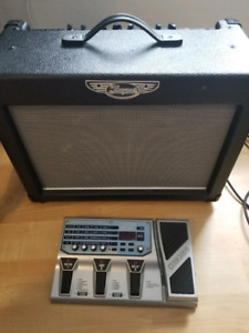 Amp and Pedal for sale