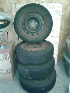 Winter Tires and Rims 205 60 R16