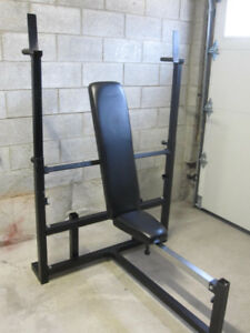 Decline Incline Flat  Olympic Bench gym weights exercise