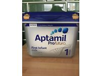Aptamil Profutura 1 x 2 tins available for £15