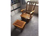 Price reduced- Hauck nursing/glider chair