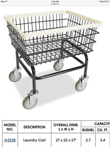 Commercial Laundry Carts