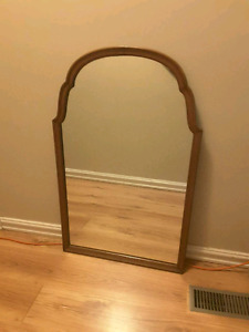 Antique heavy mirror