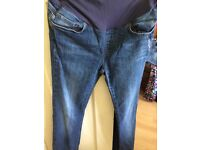 John Lewis size 8/10 maternity jeans
