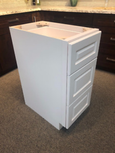Off white solid maple VANITY cabinets FINAL SALE $150 each