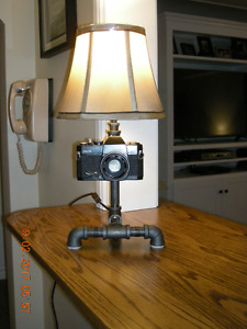 Hand Crafted/Unique Table Lamps (One of a Kind)