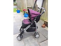 Dollies Silver Cross play buggy