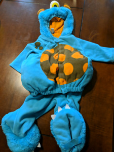 12-24 month monster costume