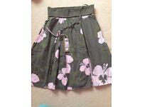 BNWT Animal skirt ladies size 12