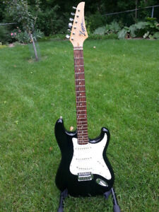 LYON BY WASHBURN STRATOCASTER STYLE 6 STRING ELECTRIC GUITAR