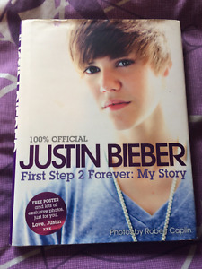 For Sale:  Justin Bieber First Step 2 Forever