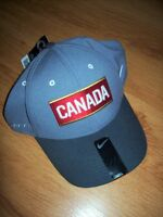NIKE DRI-FIT TEAM CANADA HOCKEY HATS OLYMPIC SIZE MEDIUM / LARGE City of Montréal Greater Montréal Preview