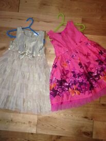 4 new girls designer dresses,age 3-6 years old for sale