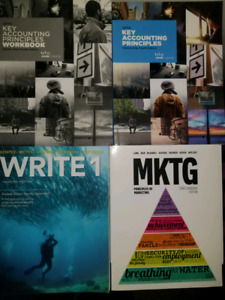 COLLEGE TEXTBOOKS MARKETING/ACCOUNTING/BUSINESS