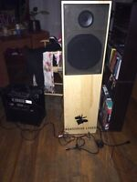 One of a kind Moosehead Lager stereo speaker