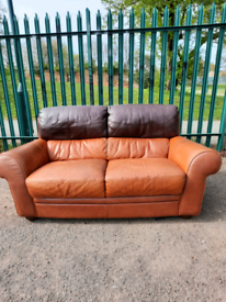 2 seater Leather sofa (delivery