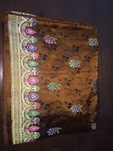 Heavy Indian saree