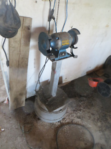 Grinder and stand