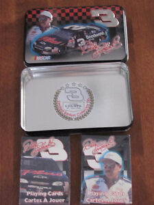 DALE EARNHARDT # 3 PLAYING CARDS Cornwall Ontario image 7