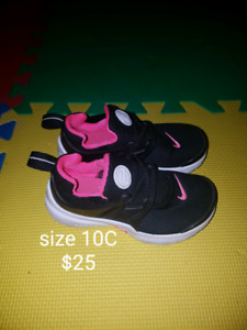 Infant and Toddler size shoes 3-10C