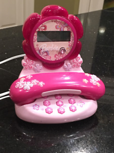Barbie Blossom Real Phone - Corded