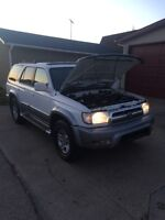 "2000 Toyota 4Runner Limited ""ALMOST NEW 152000 KMS ONLY"""