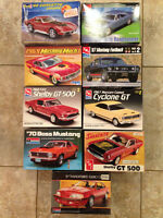 9 MODELS CARS BRAND NEW IN BOX