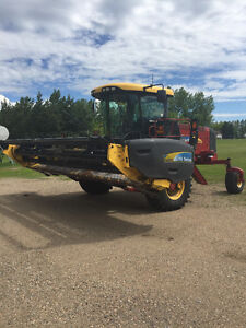 2011 New Holland 8040 Windrower