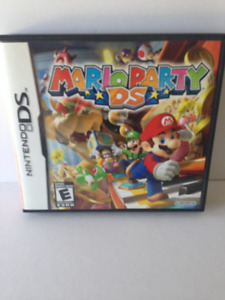 Nintendo DS Mario Party DS