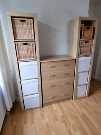 Brand new drawers and tower storage units