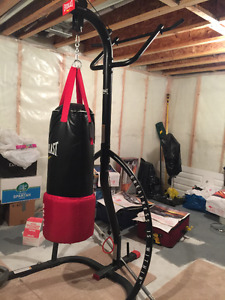 big/heavy duty-professional punching bag /stand/gloves - all