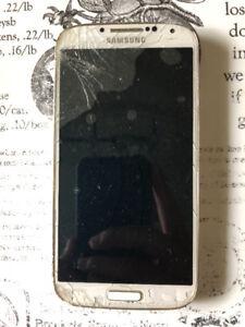 broken screen Samsung S4 for sale
