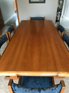 Solid Wood Dining Boardroom Table