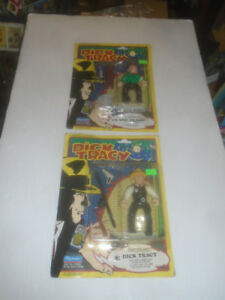 1990 DISNEY PLAYMATES DICK TRACY LOOSE PACKAGED FIGURES