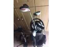 Taylormade/odyssey golf clubs (not callaway,titliest,mizuno,ping)
