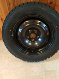 New snow tires with rims