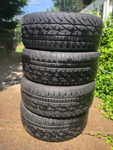 4 Tires - 215/55/R16 Goodyear Eagle