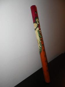 Flûte décorative sculptée à la main - GUATEMALA
