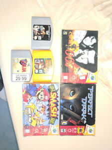 Game Cube, N64 and PS2 Games