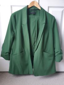 Womens Trouser and Blazer Khaki Green size 18