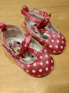 Minnie Mouse Dress Up Shoes 12-18 months