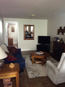 Self Contained Furnished 1 bdrm suite for student
