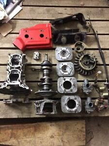 Polaris 440 fan motor