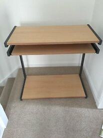 Desk for sale in excellent condition - pine effect.