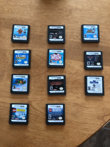 Nintendo DS, games and charger