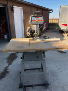 Radial Arm Saw--open to offers